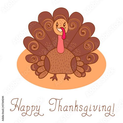 Thanksgiving turkey. Thanksgiving Day.