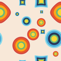 retro - abstract seamless vector pattern