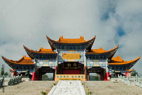 Buddhist pagodas in Dali Yunnan province of China
