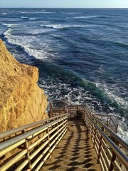Staircase to the Beach San Diego California USA