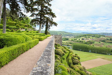 Suspended Marqueyssac gardens, France