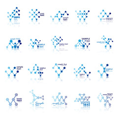 Medical Icons Set - Isolated On White - Vector Illustration