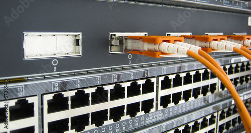 GBIC optic fiber communications equipment