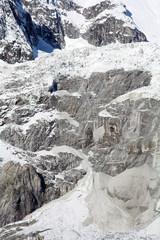 Ghiacciao sul Monte Bianco