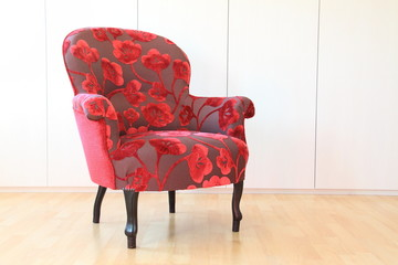 Fauteuil, crapaud
