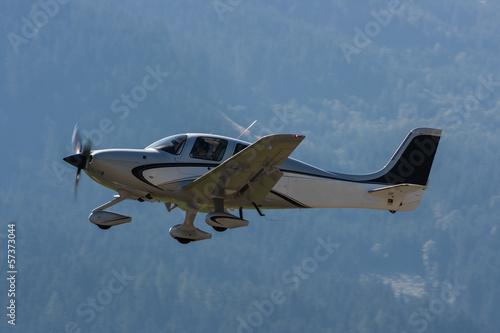 Deurstickers Luchtsport Sportflugzeug