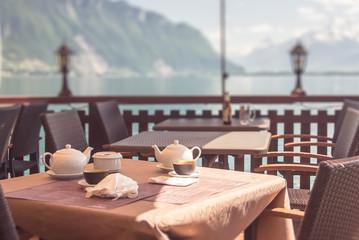 Breakfast in the Alps