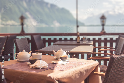 Breakfast in the Alps
