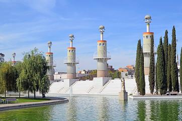 Parque de la España Industrial. Sants. Barcelona