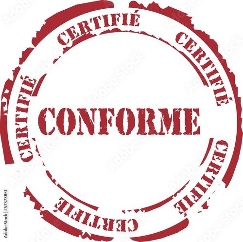 poster of tampon certifié conforme