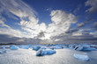 Melting icebergs at Jokulsarlon lagoon iceland - 57374457