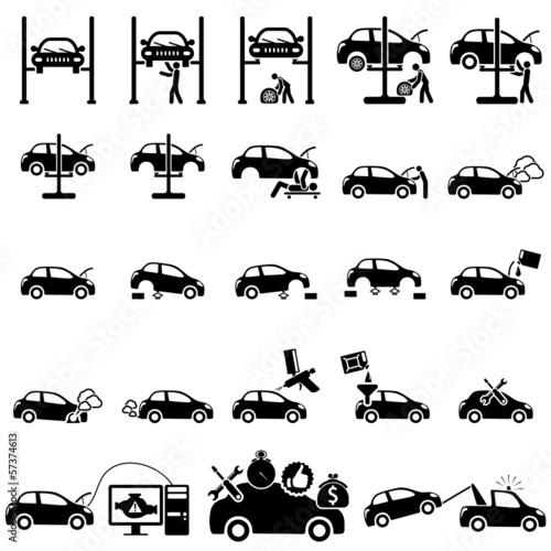 Auto repair Icons - 57374613