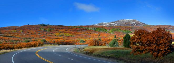 Scenic Colorado high way 62
