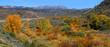 Scenic autumn landscape near Alamosa  Colorado