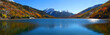 Panoramic view of beautiful crystal lake in Colorado - 57375438