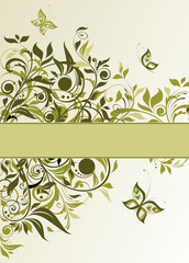 Vintage olive background