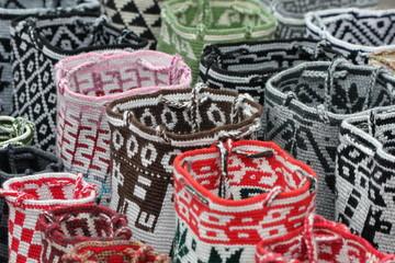 Trousse en tissu artisanales