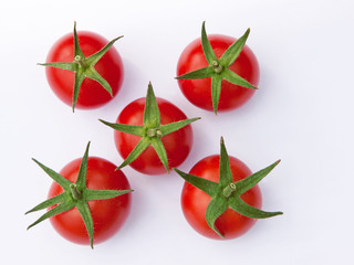 Five Ripe Tomatoes
