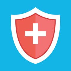 Vector Medical Shield Icon