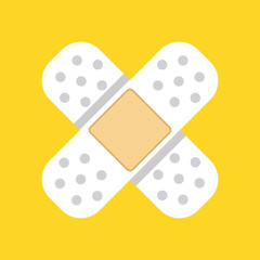 Vector Plaster Icon