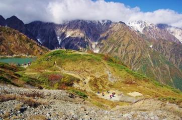 HIGHLAND hike, boardwalk 白馬八方尾根高原と木道