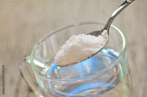 Spoonful of baking soda