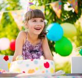 Fototapety Children birthday party