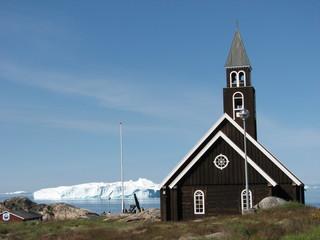 Zions Kirke  Jakobshavn (The Zion Church in Ilulissat)