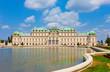 Belvedere palace in Vienna, Austria