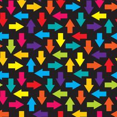 arrows seamless background vector illustration