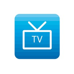Blue TV icon