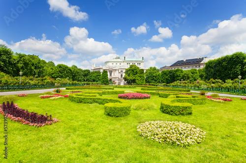 Volksgarten park in Vienna