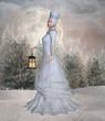 Walk in a winter land
