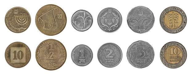 Israeli new shekel coins