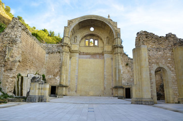 Ruins of Santa Maria church in Cazorla, Spain
