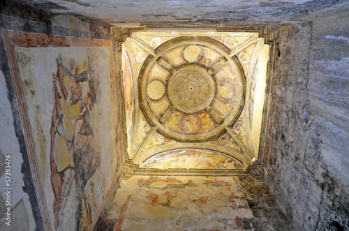 Vault of the Chapel of Saint Christopher, Cazorla