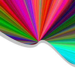 Color Burst Background