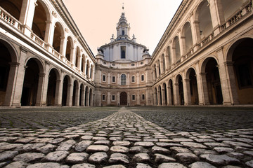 Roma chiesa Sant'Ivo alla Sapienza