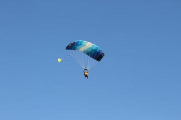 Parachute bapteme de l'air