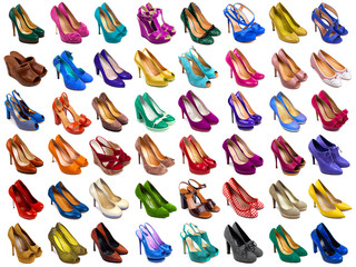 Female shoes collection