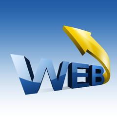 Web 3D Letter