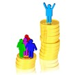 Arm und Reich - ungleiche Verteilung