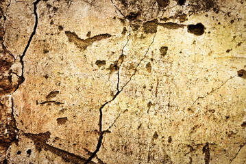 Pared agrietada, fondo