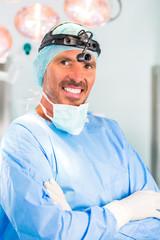 Krankenhaus - Arzt oder Chirurg im OP