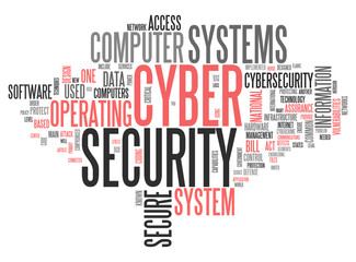 "Word Cloud ""Cyber Security"""
