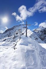 Bergkreuz auf der Alpspitze