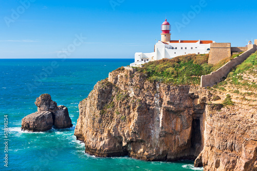 Lighthouse of Cabo Sao Vicente, Sagres, Portugal - 57398254