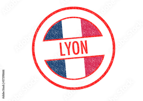 LYON Rubber Stamp