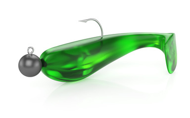 soft plastic fishing bait