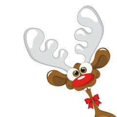 Rentier Comic / reindeer comic